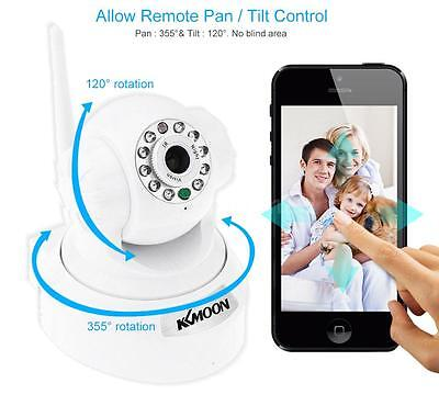 HD 0.3MP IP Camera PnP P2P Pan Tilt IR Cut WiFi Wireless Network IP Webcam 1N3Q