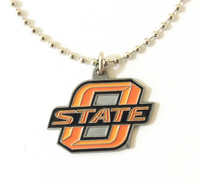OKLAHOMA STATE COWBOYS LARGE PENDANT NECKLACE 24239 new college sports jewelry
