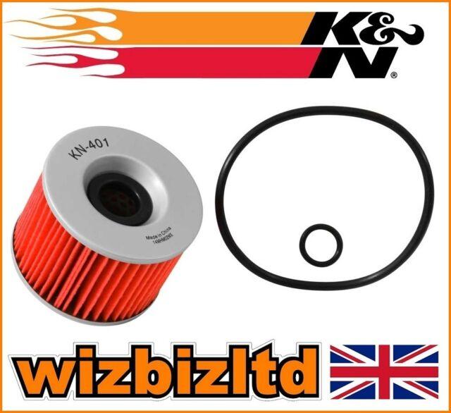 K&N Oil Filter Kawasaki KZ400D 1974-1975 KN401