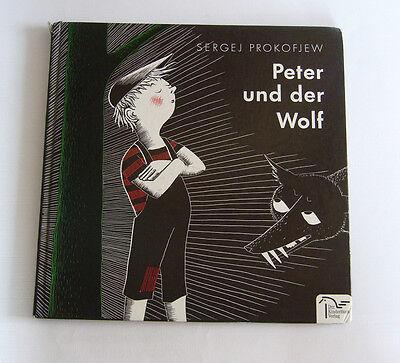 Peter und der Wolf - Sergei Prokofjew - Edition Holz Musikalisches Märchen Buch