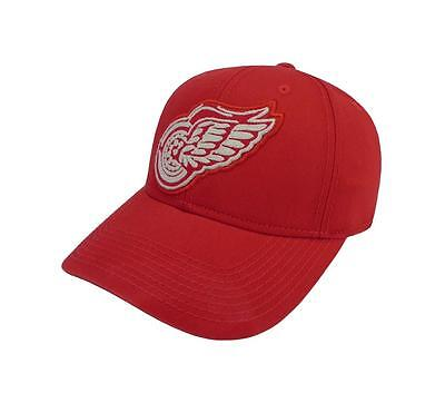 CCM NHL Detroit Red Wings Structured Hockey Hat Adjustable Adult Snapback Cap