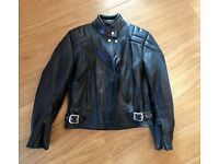 Ashman genuine cowhide motorcycle jacket - vintage but hardly used- great quality - unisex.