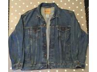 Men's Levi Strauss, Blue XL, Denim Jacket, New (unworn)