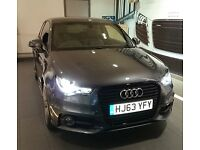 Audi A1 S Line Black Edition (185 PS) in Daytona Grey 63 Plate - only 11,000 miles
