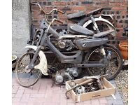 """Classic"" Honda PC50 Moped - Spares ""Job Lot"""