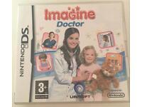 "Nintendo DS ""Imagine Doctor"" game"
