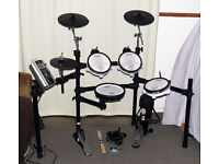 ROLAND V-Drums electronic TD-9 full mesh pads kit plus pedal 3 zone ride NICE!