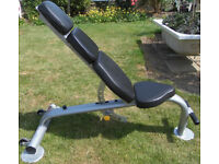 Escape Fitness Octagon Adjustable Incline / Decline Bench