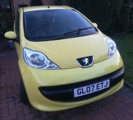 Peugeot 107 Urban 2007 1.0L Low Mileage, Good Condition, Owned from New