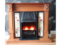 Fire Surround & Electric Fire ~ Will take £80 for both Fires & Surrounds