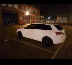 WHITE AUDI A3 1.6L SPECIAL EDITION 2008 5 DOOR FULL SERVICE QUALITY CAR CHEAP BARGAIN QUICK SALE