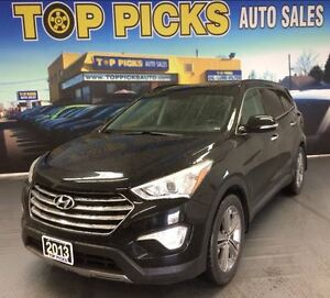 2013 Hyundai Santa Fe LIMITED XL, AWD, LEATHER, SUNROOF, NAVIGAT