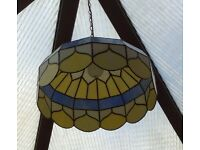 Tiffany lamp shade the real thing