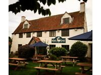 Front of House positions available- White Hart Littleton-upon-Severn