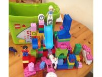 Duplo bricks various