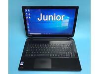 Toshiba i3 VeryFast 8GB, 1TB Slim HD Laptop, Skullycandy Sounds, HDMI, Ms office, VGood Condition
