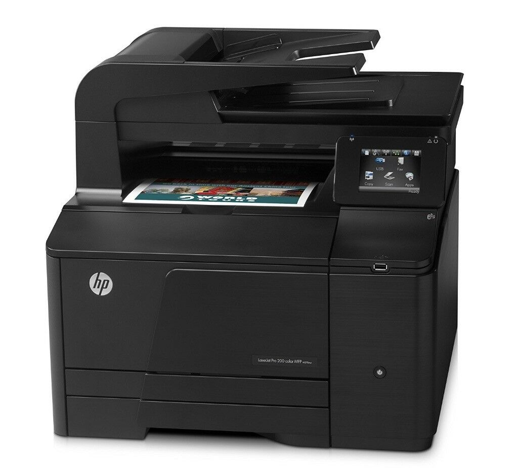 HP LaserJet Pro 200 Color M276nw All-In-One Printer + New Black Toner Cartridge