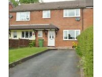2 bed . Cloakroom utility Lounge kitchen + dining area. Central heating, double glazed. Driveway