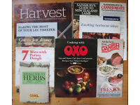 10 vintage (1980s onwards) food promotional/cooking leaflets/books. Oxo, Danish bacon, etc. £2 lot