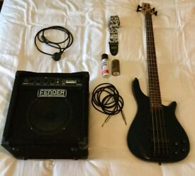 Vintage Active Bass and Fender Amp