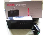 NEW LOGIK DAB RADIO. 20 STATION PRESETS.