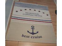 Nautical rug for sale