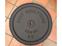 Body Sculpture 50 lbs Cast Iron disc
