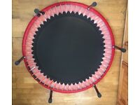 "Rebounder bungee type mini trampoline 40"" rebounding "" pure person Bellicon """