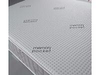1000 Pocket Hyder Memory Foam Mattress