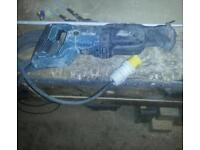Makita reciprocating saw spares or repairs