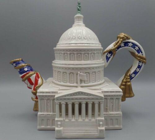Fitz & Floyd Rare U.S. Capitol teapot