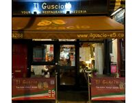 Pizza Maker wanted for Il Guscio E5 Pizzeria in Hackney.