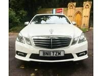 2011 Mercedes-Benz E Class E250 CDI BlueEFFICIENCY White 52000 Miles