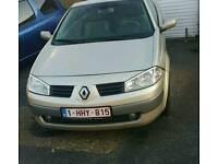 Left hand drive Renault Megane, 1.6l petrol