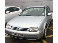 Volkswagen Golf 170BHP V5 Auto 62934 miles with full MOT until June 18