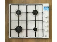 Beko HIZG 64120 white Gas hob. Brand new.