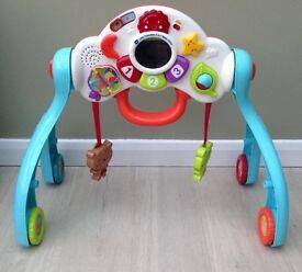 Little Friendlies 3 in 1 Baby Centre Walker Play Gym