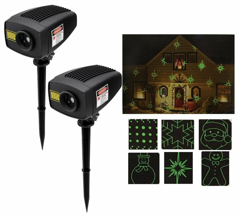 Brand new Mr Christmas Super Laser Show indoor and outdoor