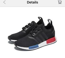 Adidas NMD Black Blue Red