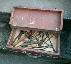 Toolbox with lots of various tools