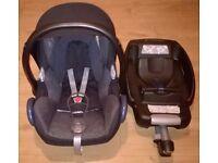 Maxi-Cosi CabrioFix Group 0+ Car Seat (0-13kg) + EasyFix ISOFIX Base