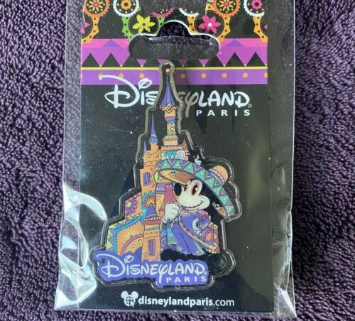 Disneyland Paris DLP Dia De Los Muertos Mickey Mouse Castle Pin - Halloween 2017