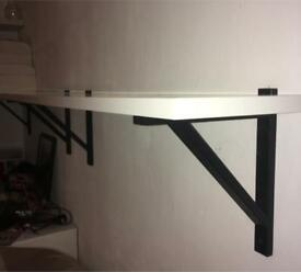 MUST GO! Ikea white shelves Brilliant condition