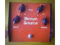Lovetone Brown Source Overdrive Pedal