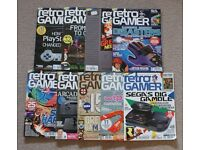 lot of 9 RETRO GAMER magazines