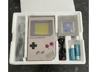 Nintendo Gameboy Console (Boxed With Tetris)
