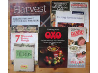 10 vintage (1980s onwards) food promotional/cooking leaflets/books. Oxo, Danish Bacon, etc. £2 lot.