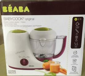 Beaba baby cook with rice cooker