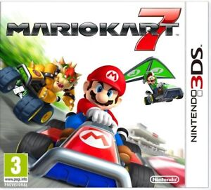Brand New Mario Kart 7, Compatible with Nintendo 2DS, 3DS and 3DS XL - FAST POST