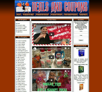 Coupons And Deals Website For Sale